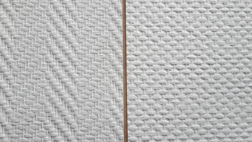 Behangwerk for Glasvezelbehang sauzen